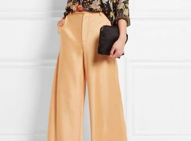 Подбираем красивые широкие брюки